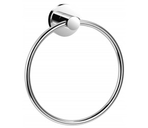 Iona Glisten Chrome Towel Ring