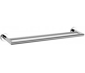 Iona Glisten Chrome Double Towel Bar