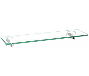Iona Glisten Bathroom Glass Shelf