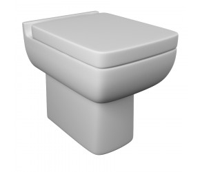Kartell Options Back To Wall Toilet With Soft Close Seat
