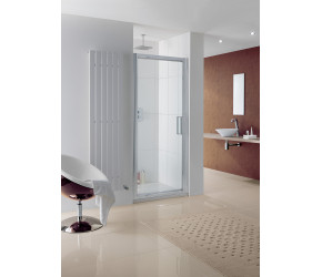Lakes Narva Framed Pivot Shower Enclosure 800mm Wide x 2000mm High