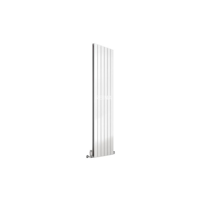 Reina Flat White Double Panel Vertical Radiator 1800mm