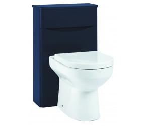 Iona Contour Indigo Blue Back To Wall Toilet WC Unit 500mm