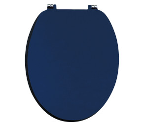 Iona Indigo Blue Wooden Soft Close Toilet Seat