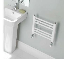 Eastbrook Biava Multirail White Straight Heated Towel Rail 1720mm x 450mm