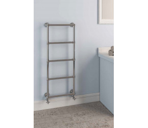 Eastbrook Stour Traditional Chrome Towel Rail 1550mm High x 600mm Wide