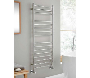 Kartell Orlando Polished Stainless Steel Straight Towel Rail 720mm x 600mm