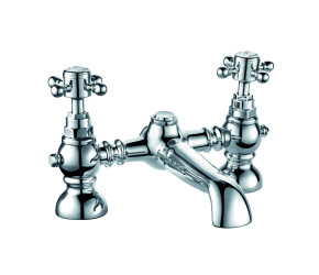 Trisen Formby Chrome Two Handle Bath Filler Tap