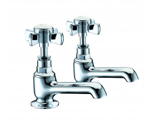 Trisen Wisley Chrome Bath Taps
