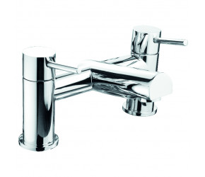 Trisen Grove Chrome Two Handle Bath Filler Tap