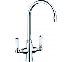 Trisen Chrome Two Handle Kitchen Mixer Tap