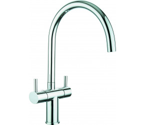 Trisen Phireo Chrome Two Handle Kitchen Mixer Tap