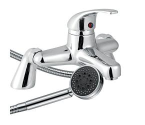 Trisen Ailsa Chrome Single Lever Bath Shower Mixer Tap With Kit