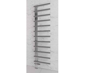 Eastbrook Marlow E-Style Matt Anthracite Designer Towel Rail 1750mm High x 500mm Wide
