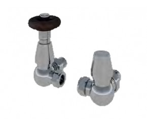 Eastbrook Corner Chrome Traditional Thermostatic Valves