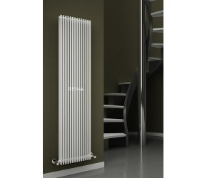 Reina Tubes White Single Vertical Radiator 1800mm x 350mm