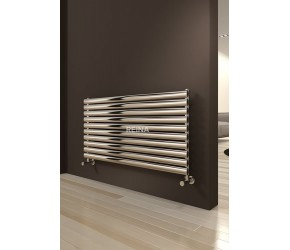 Reina Artena Single Panel Polished Stainless Steel Radiator 590mm x 1000mm