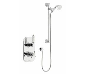 Kartell Klassique Option 1 Thermostatic Concealed Shower Inc Slide Rail Kit