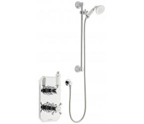 Kartell Viktory Option 1 Thermostatic Concealed Shower with Slide Rail Kit