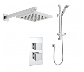 Kartell Pure Option 3 Thermostatic Concealed Shower