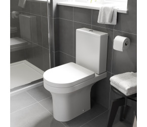 Kartell Ozone Close Coupled Rimless Toilet Set