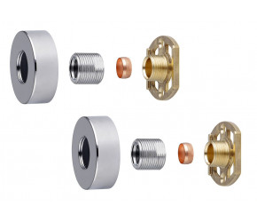 Tailored Round Easy-Fit Shower Kit