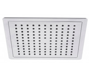 Tailored Chrome Square Overhead Shower Head 200mm
