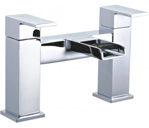 Tailored Cardiff Chrome Square Waterfall Bath Filler Tap