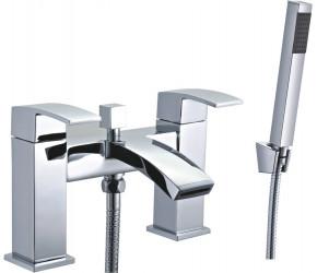 Tailored Brecon Chrome Modern Curve Bath Shower Mixer Tap