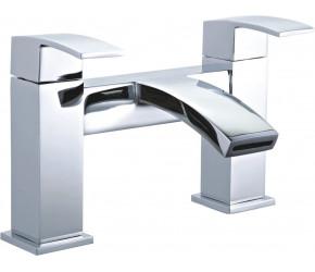 Tailored Brecon Chrome Modern Curve Bath Filler Tap