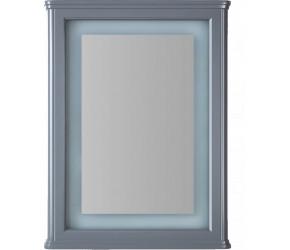 Tailored Niamh Grey PVC Mirror Frame 500mm x 700mm