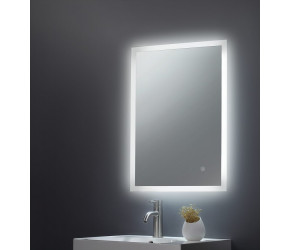 Tailored Alfie Square Mirror LED Edge 500mm x 700mm x78mm