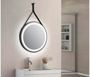 Tailored Delilah Orca LED Round Touch Mirror 600mm