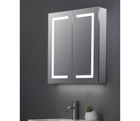 Tailored Max Double Door LED Mirror Cabinet 600mm x 700mm
