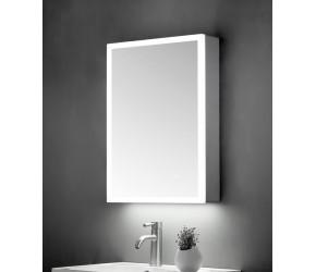 Tailored Ella Single Door Mirror Cabinet LED Surround 500mm x 700mm