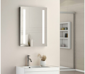 Tailored Niall Twin Vertical Strip LED Touch Mirror 500mm x 700mm x 45mm