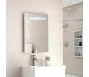 Tailored Isla Single Horizontal Strip LED Touch Mirror 500mm x 700mm x 45mm