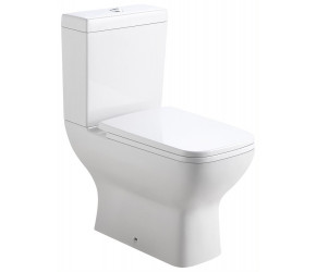 Tailored Seina Close Coupled Square Toilet with Seat