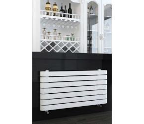 Kartell Denver White 500mm x 1000mm Designer Towel Rail