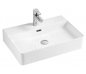 Kartell Essential 600mm 1 Tap Hole Counter Top Basin