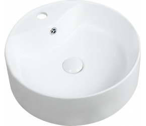 Kartell Karlo Round 460mm 1 Tap Hole Counter Top Basin