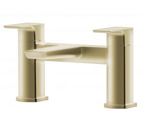 Tailored Swansea Brushed Brass Bath Filler Tap