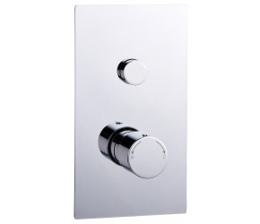 Tailored Thermostatic Round Concealed 1 Out Let Push Button Shower Valve
