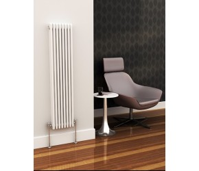 Eastgate Lazarus Vertical Two Column Radiator 1192mm High x 398mm Wide