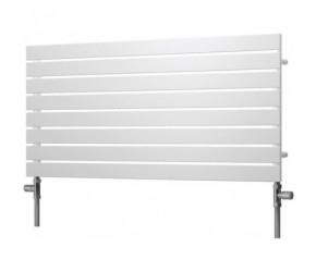 Reina Rione Single Panel Designer Radiator 550mm High X 600mm Wide White
