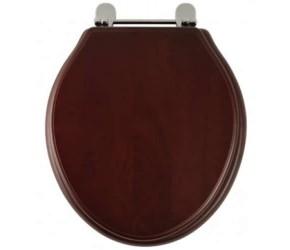 Roper Rhodes Mahogany Wooden Greenwich Toilet Seat (8099MSC)