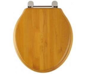 Roper Rhodes Antique Pine Wooden Greenwich Toilet Seat (8099ASC)