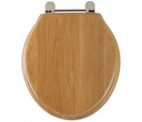 Roper Rhodes Limed Oak Wooden Greenwich Toilet Seat (8099LISC)