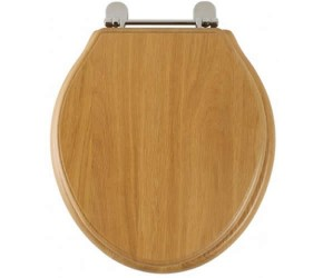 Roper Rhodes Oak Wooden Greenwich Toilet Seat (8099NOSC)