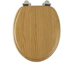 Roper Rhodes Oak Wooden Traditional soft-closing Toilet Seat (8081NOSC)